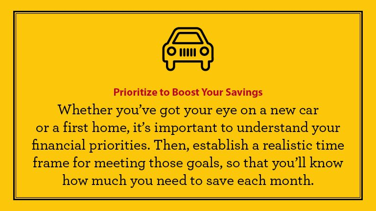 Budgeting tips - Prioritize to boost your savings