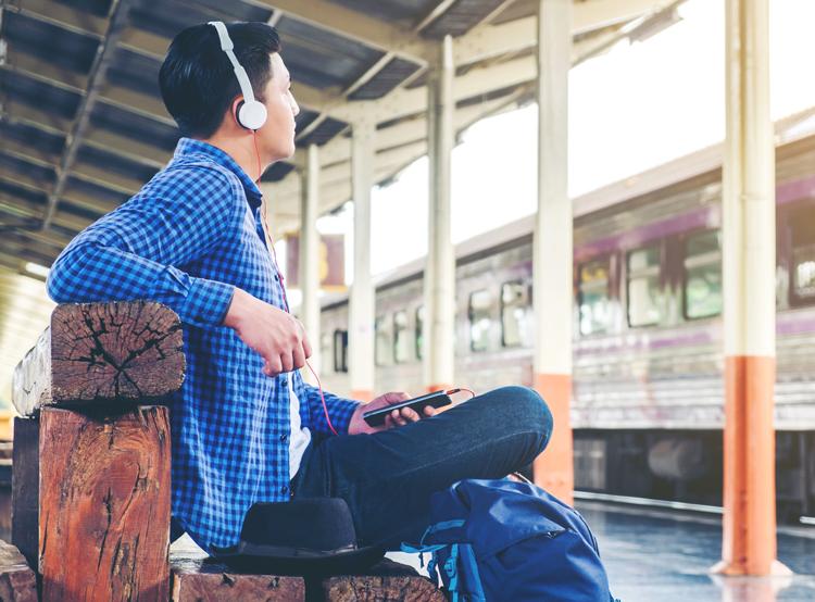 student unpaid intern commuting to work