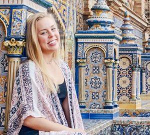 Crosby Melendi on study abroad
